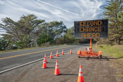 SECOND CHANCE AHEAD