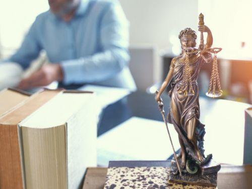 Georgia Criminal Defense Attorney Working at Desk
